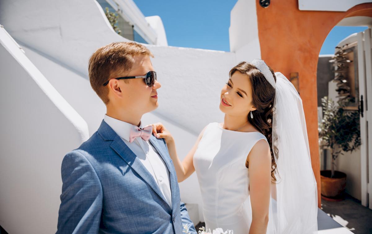 Алексей и Ольга: свадьба на санторини, свадебное агентство Julia Veselova - Фото 5