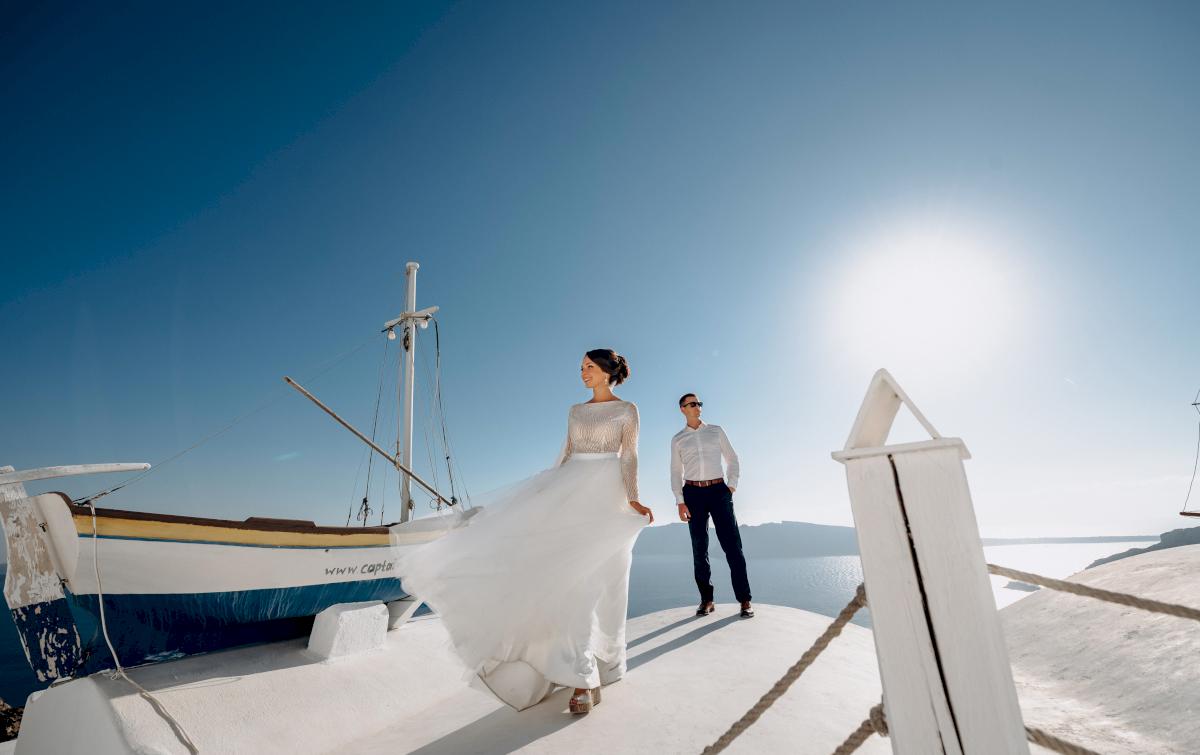 Анастасия и Иван: свадьба на санторини, свадебное агентство Julia Veselova - Фото 10
