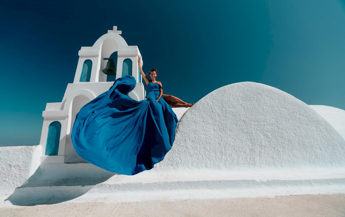 Регина Тодоренко: свадьба на санторини, свадебное агентство Julia Veselova - Фото 3