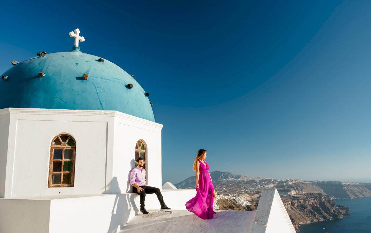Levy Shady: свадьба на санторини, свадебное агентство Julia Veselova - Фото 8