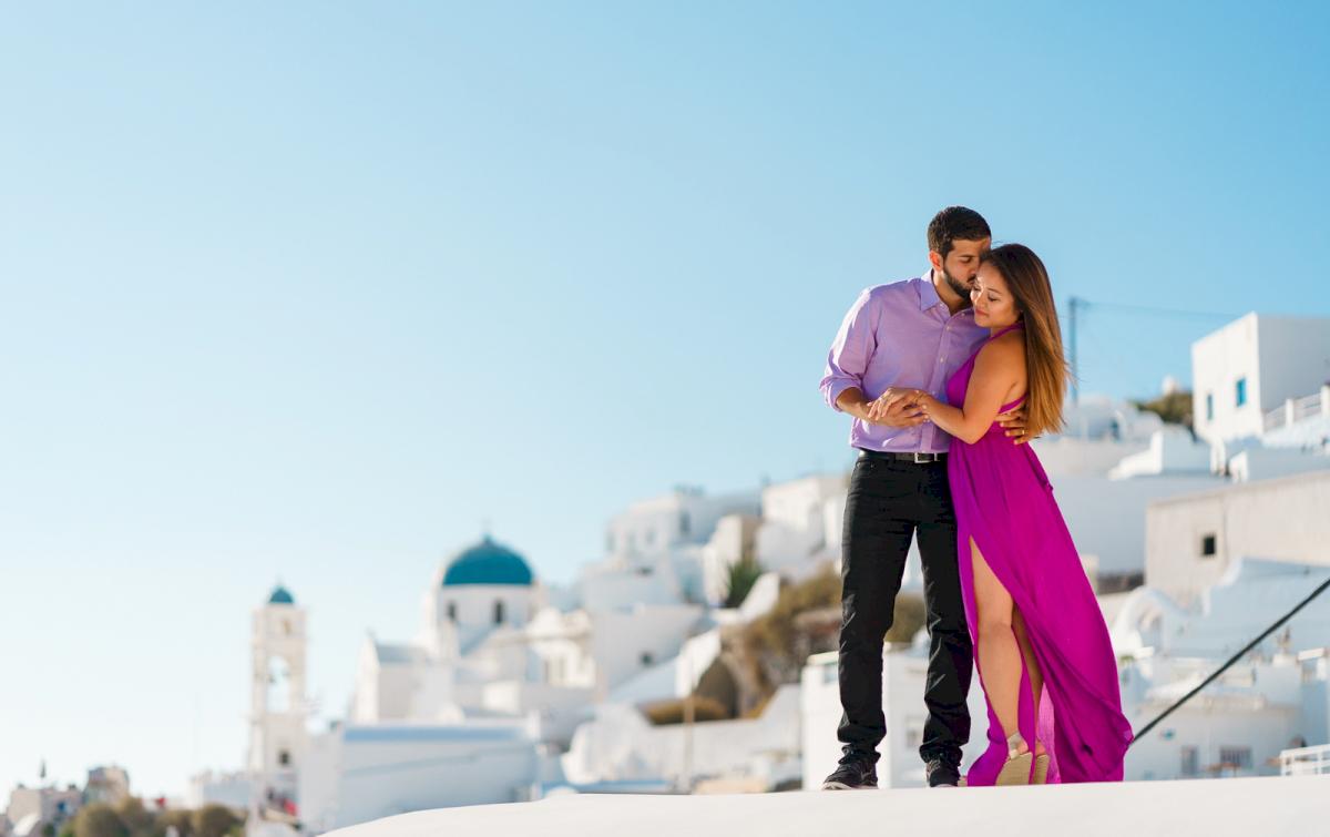 Levy Shady: свадьба на санторини, свадебное агентство Julia Veselova - Фото 18