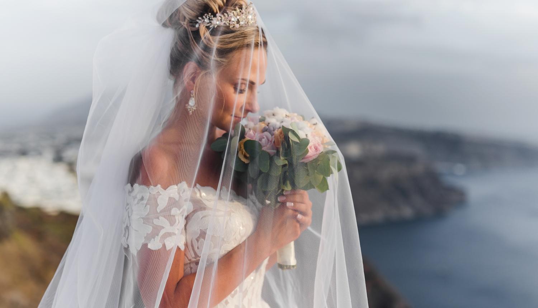 Darya & Jason: свадьба на санторини, свадебное агентство Julia Veselova - Фото 6