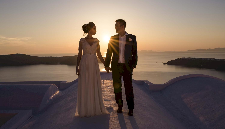 Наталья и Сергей: свадьба на санторини, свадебное агентство Julia Veselova - Фото 13