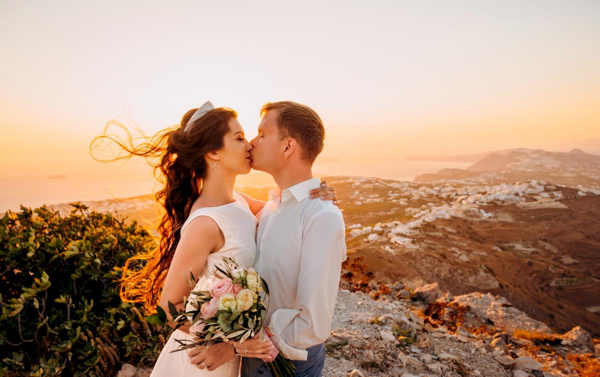 Алексей и Ольга: свадьба на санторини, свадебное агентство Julia Veselova - Фото 23
