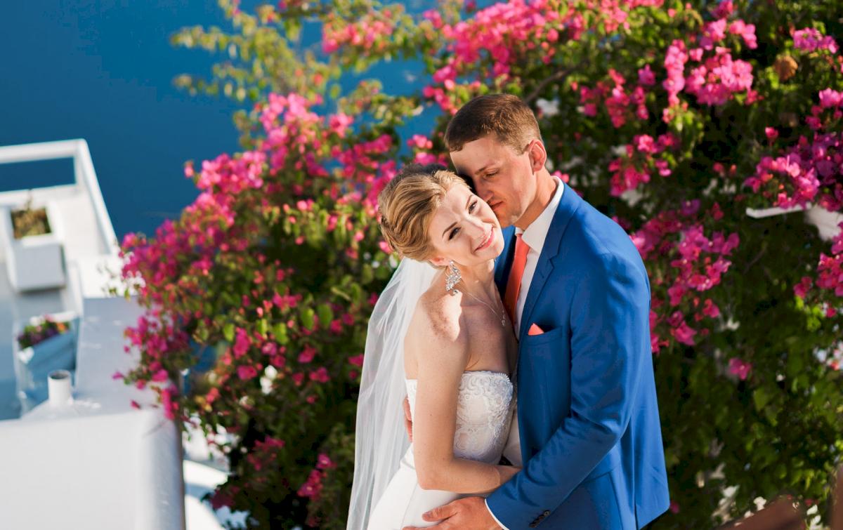 Алена и Рома: свадьба на санторини, свадебное агентство Julia Veselova - Фото 7
