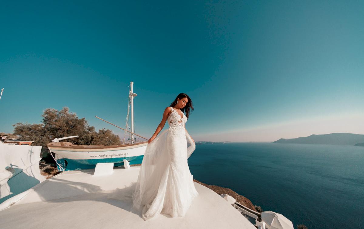 Яна и Рафаэль: свадьба на санторини, свадебное агентство Julia Veselova - Фото 9