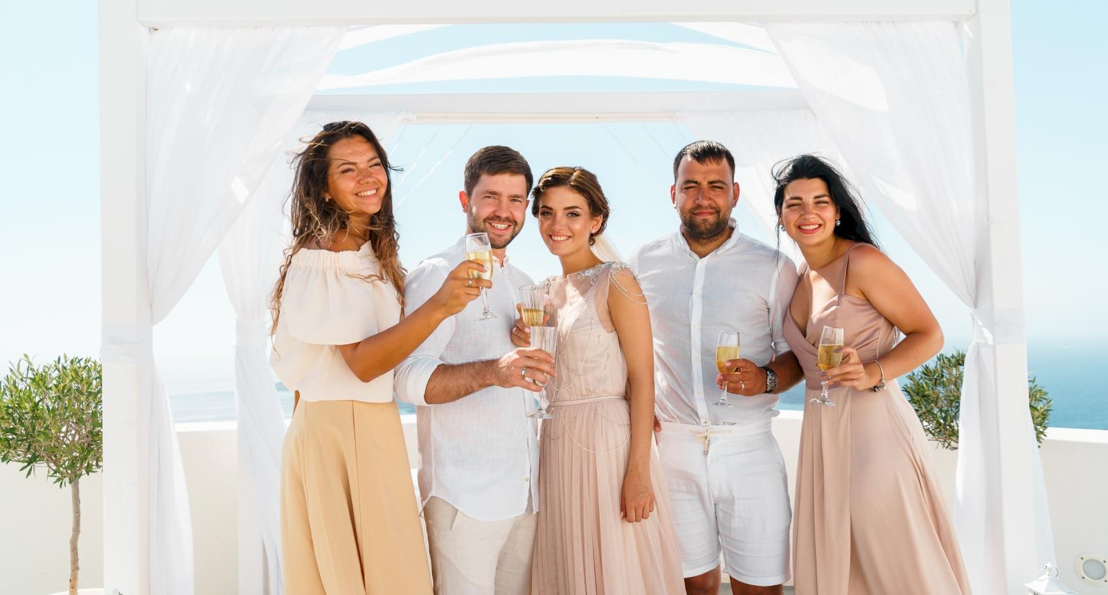 Елизавета и Павел: свадьба на санторини, свадебное агентство Julia Veselova - Фото 6