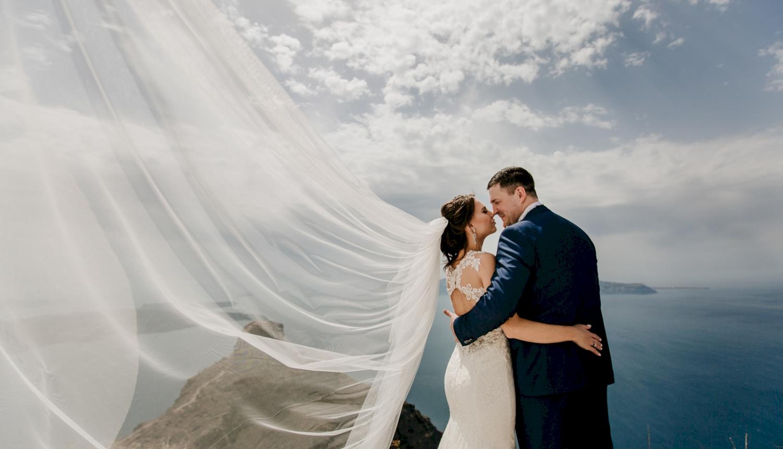 Юлия и Максим: свадьба на санторини, свадебное агентство Julia Veselova - Фото 3