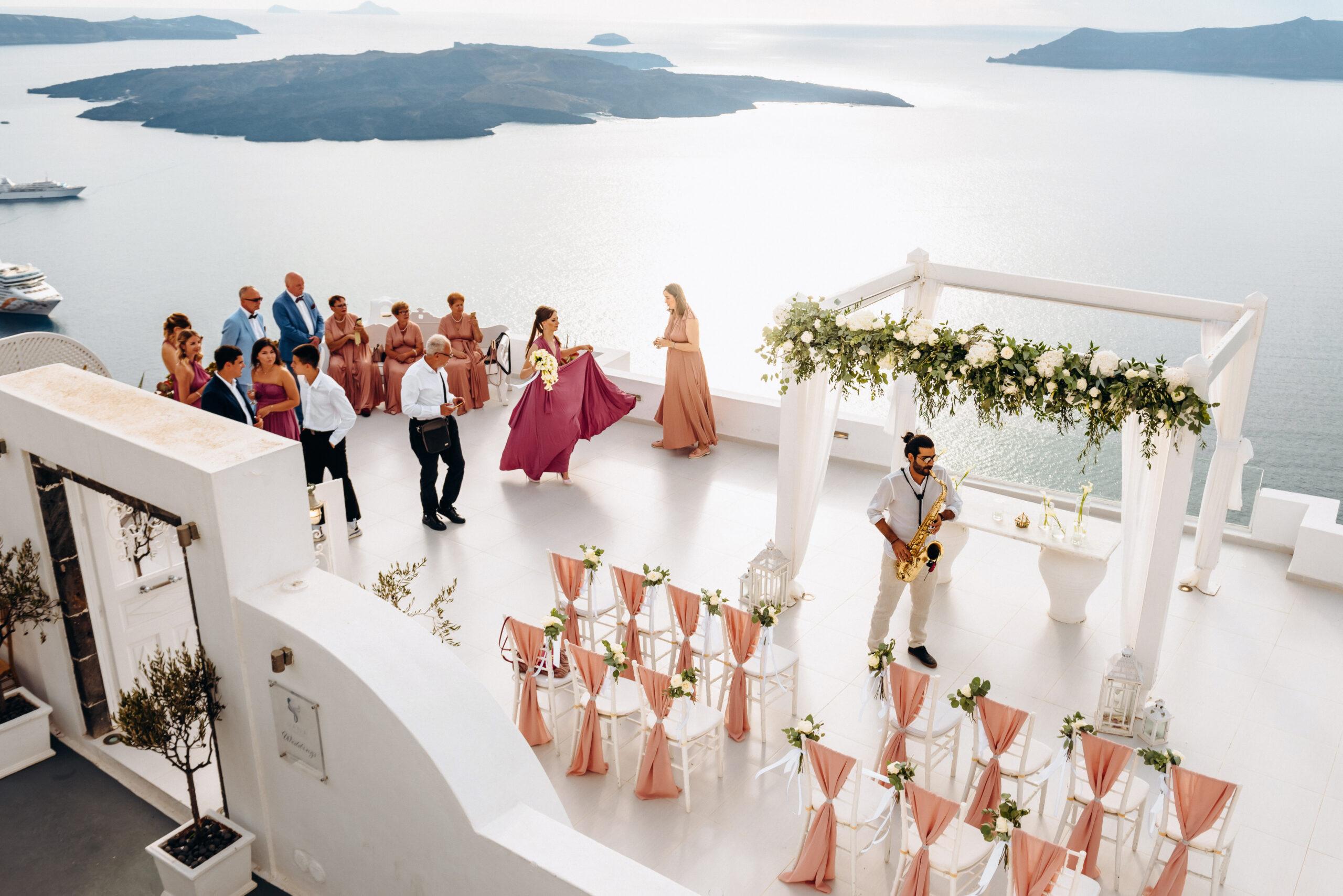 Музыкальное сопровождение: свадьба на санторини, свадебное агентство Julia Veselova - Фото 2
