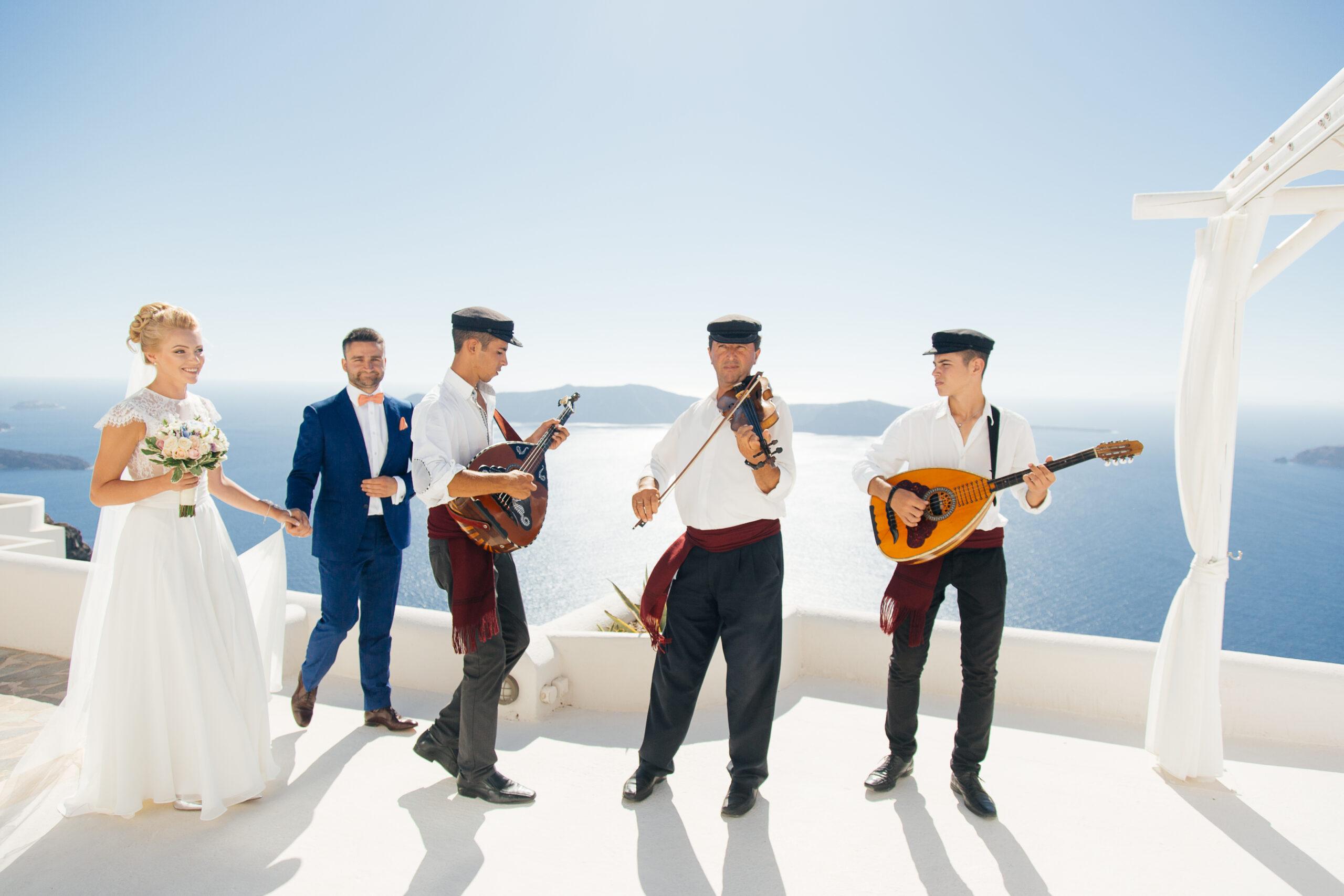 Музыкальное сопровождение: свадьба на санторини, свадебное агентство Julia Veselova - Фото 4