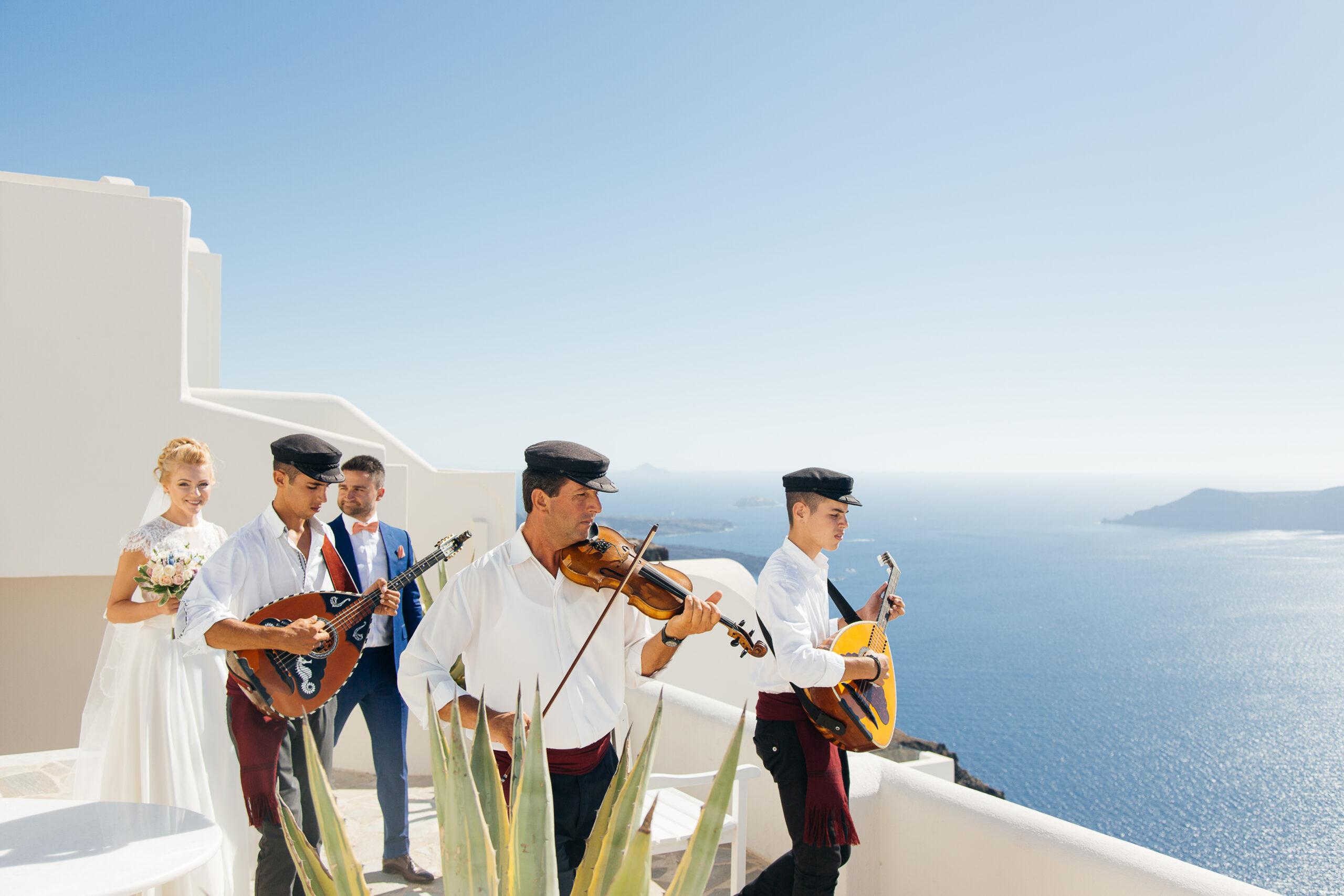 Музыкальное сопровождение: свадьба на санторини, свадебное агентство Julia Veselova - Фото 6