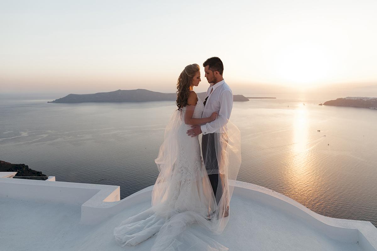Жанна и Адриан: свадьба на санторини, свадебное агентство Julia Veselova - Фото 14