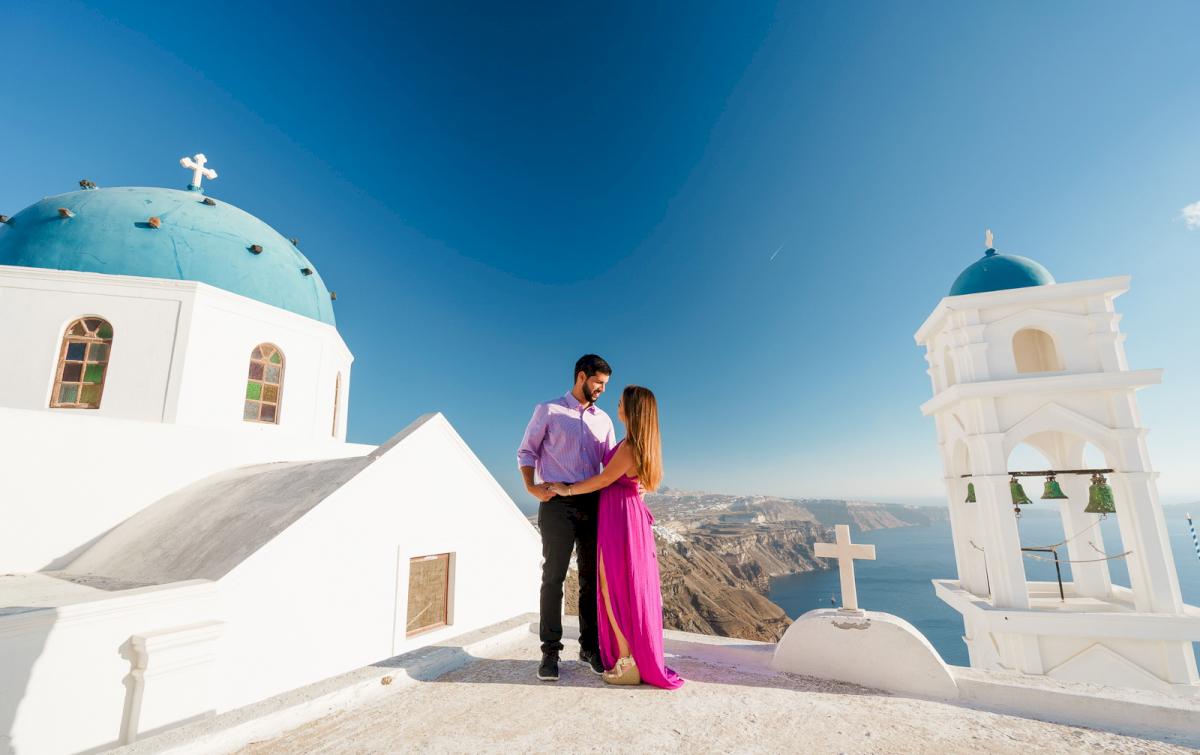 Levy Shady: свадьба на санторини, свадебное агентство Julia Veselova - Фото 12