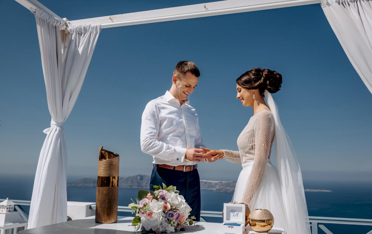 Анастасия и Иван: свадьба на санторини, свадебное агентство Julia Veselova - Фото 8