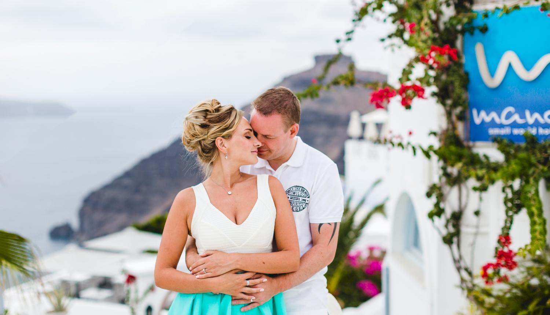 Darya & Jason: свадьба на санторини, свадебное агентство Julia Veselova - Фото 12