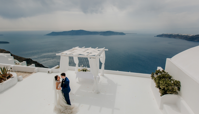 Юлия и Максим: свадьба на санторини, свадебное агентство Julia Veselova - Фото 9