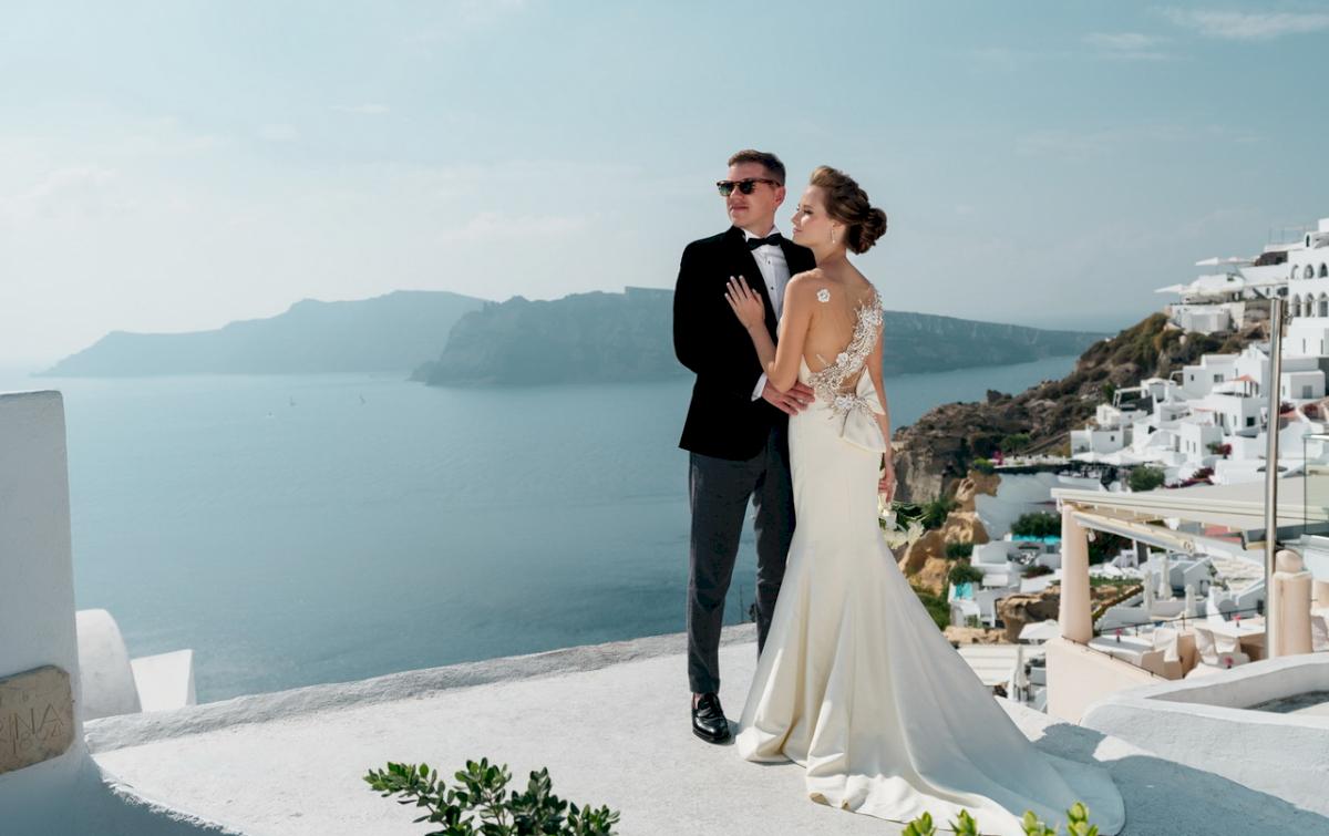 Любовь и Антон: свадьба на санторини, свадебное агентство Julia Veselova - Фото 8