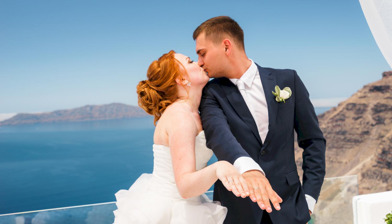 Наталья и Александр: свадьба на санторини, свадебное агентство Julia Veselova - Фото 14