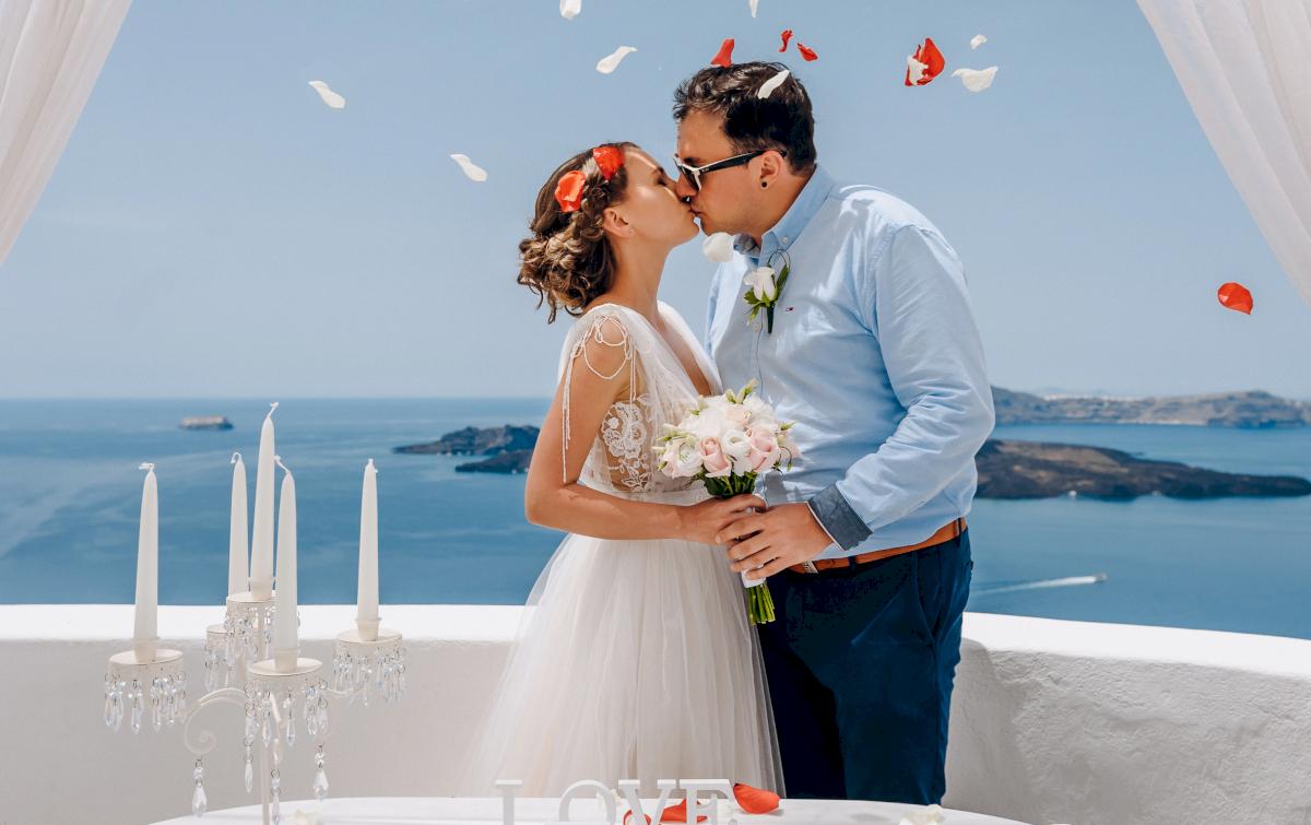 Анна и Андрей: свадьба на санторини, свадебное агентство Julia Veselova - Фото 6