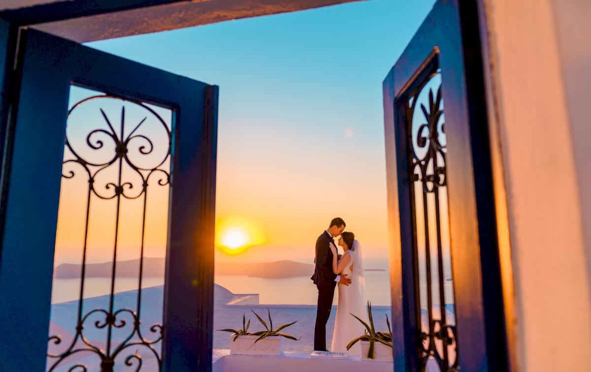 Виолетта и Александр: свадьба на санторини, свадебное агентство Julia Veselova - Фото 9