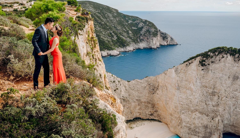 Sugar and Joe: свадьба на санторини, свадебное агентство Julia Veselova - Фото 15