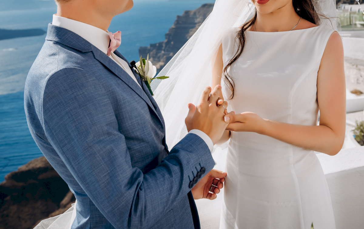 Алексей и Ольга: свадьба на санторини, свадебное агентство Julia Veselova - Фото 20