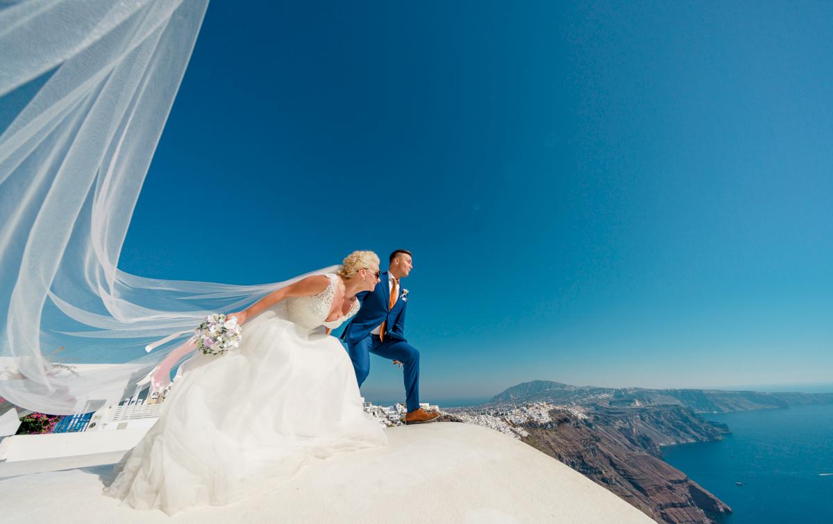 Екатерина и Андрей: свадьба на санторини, свадебное агентство Julia Veselova - Фото 4