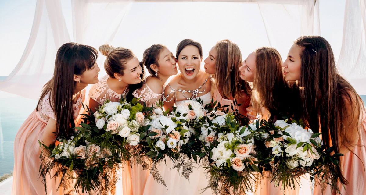 Флористика и декор: свадьба на санторини, свадебное агентство Julia Veselova - Фото 1