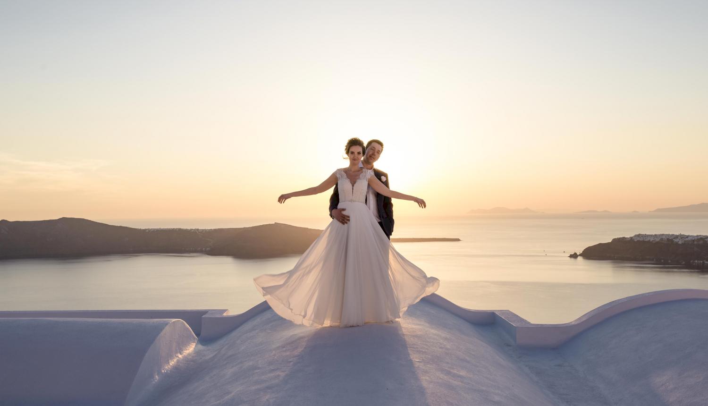 Наталья и Сергей: свадьба на санторини, свадебное агентство Julia Veselova - Фото 14