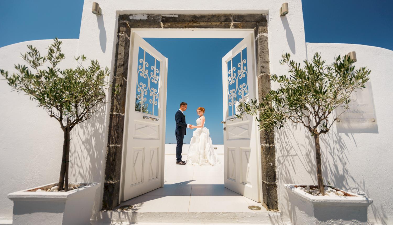 Наталья и Александр: свадьба на санторини, свадебное агентство Julia Veselova - Фото 12