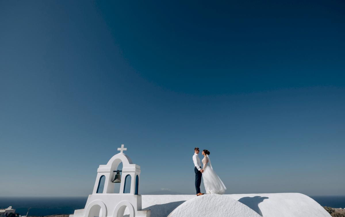 Анастасия и Иван: свадьба на санторини, свадебное агентство Julia Veselova - Фото 11