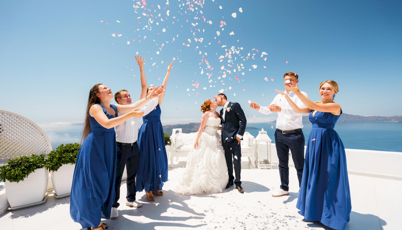 Наталья и Александр: свадьба на санторини, свадебное агентство Julia Veselova - Фото 13