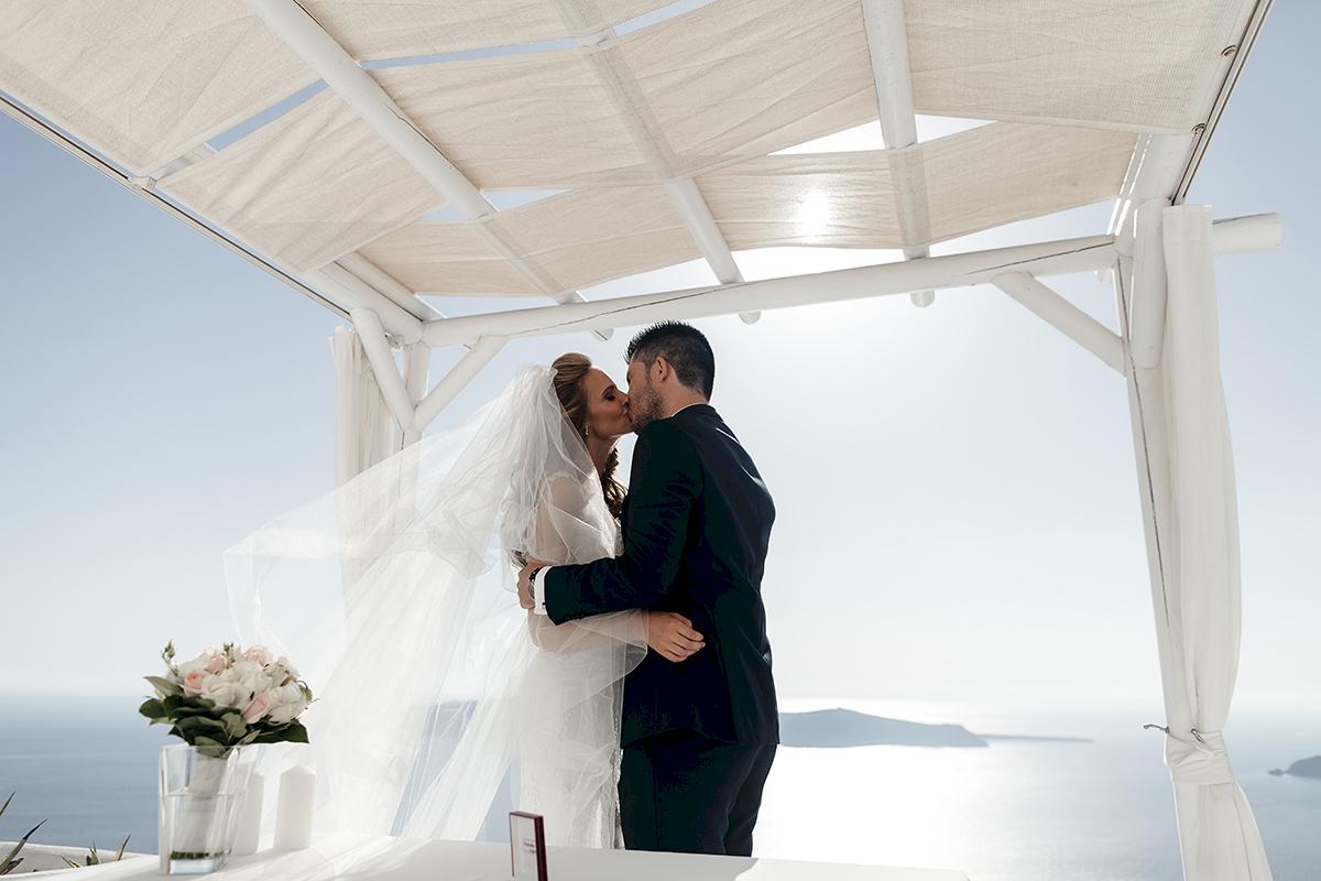 Жанна и Адриан: свадьба на санторини, свадебное агентство Julia Veselova - Фото 6
