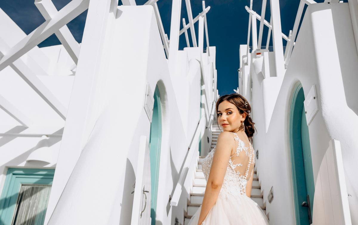 Юлия и Ярослав: свадьба на санторини, свадебное агентство Julia Veselova - Фото 12