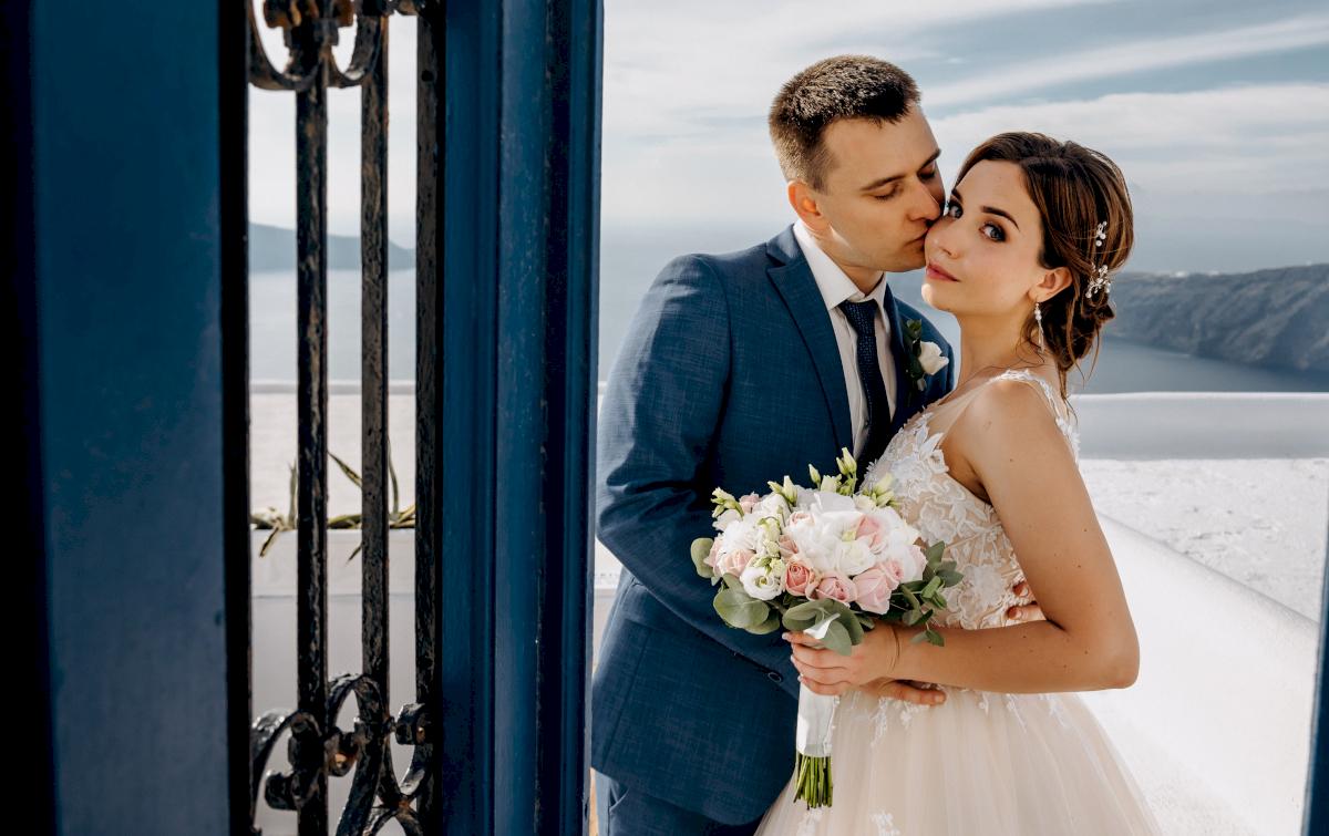 Юлия и Ярослав: свадьба на санторини, свадебное агентство Julia Veselova - Фото 2