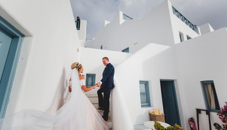 Darya & Jason: свадьба на санторини, свадебное агентство Julia Veselova - Фото 4