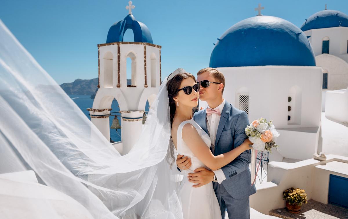 Алексей и Ольга: свадьба на санторини, свадебное агентство Julia Veselova - Фото 18