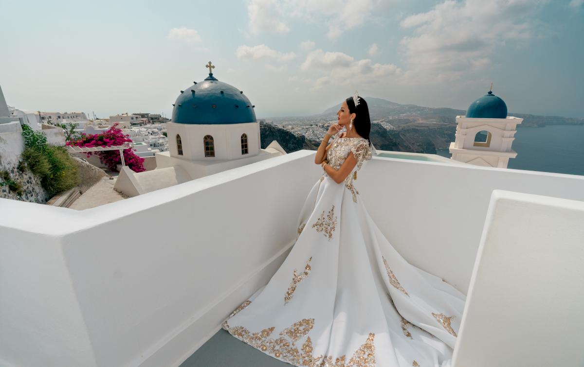Жасмин: свадьба на санторини, свадебное агентство Julia Veselova - Фото 1
