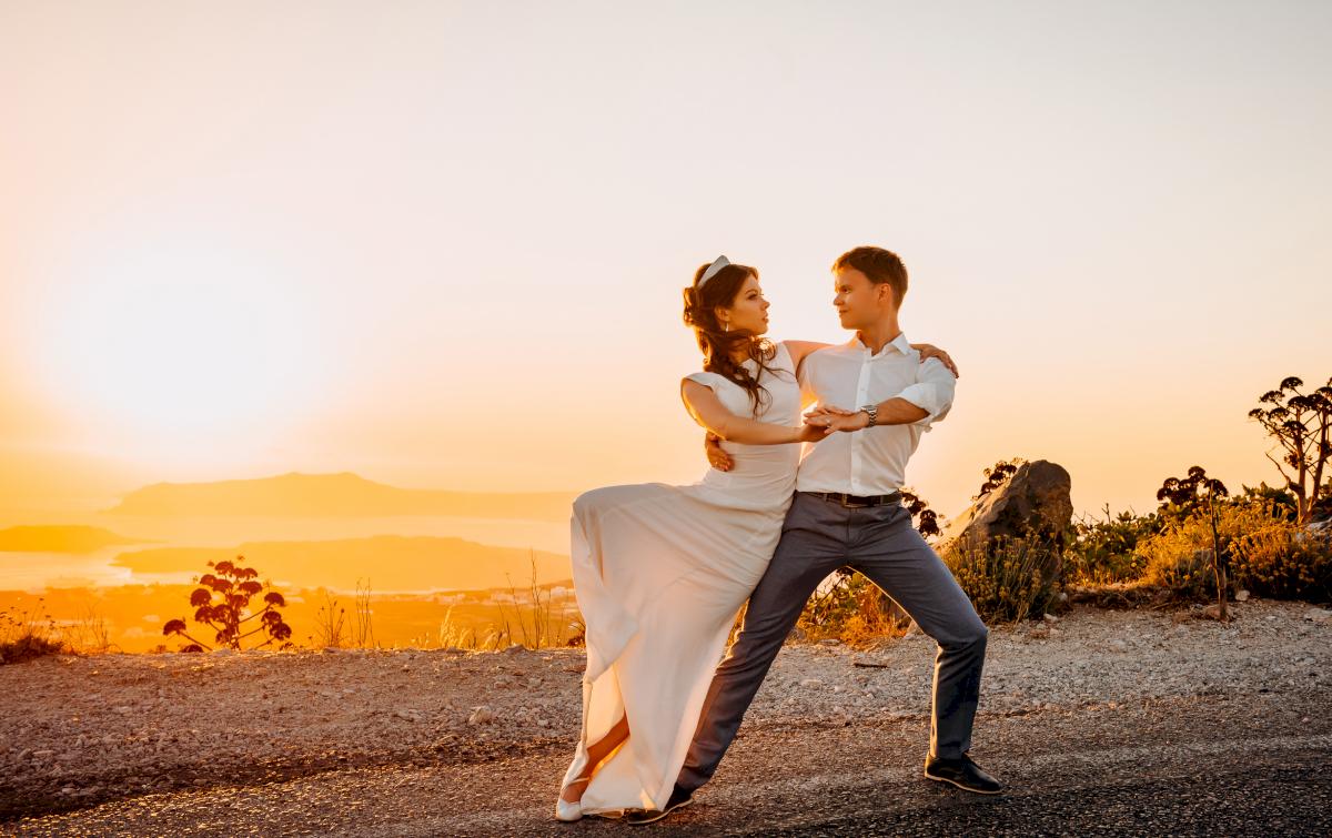 Алексей и Ольга: свадьба на санторини, свадебное агентство Julia Veselova - Фото 22