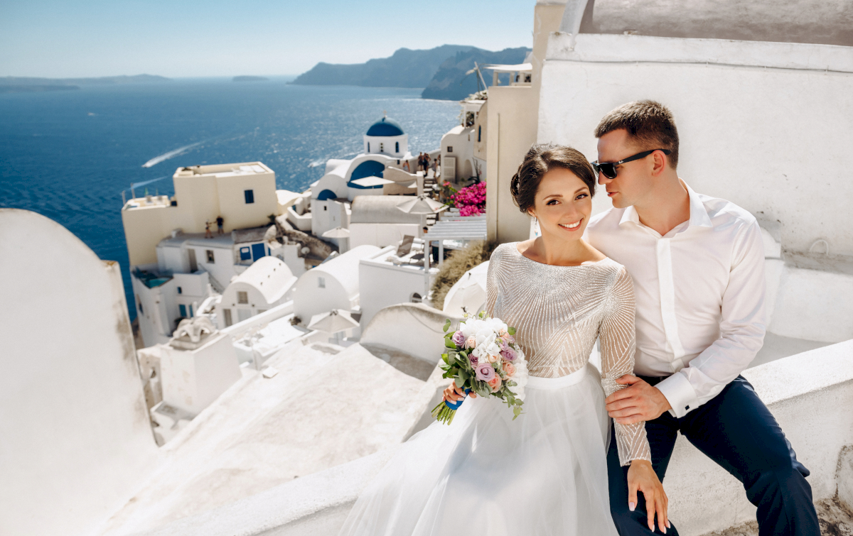 Анастасия и Иван: свадьба на санторини, свадебное агентство Julia Veselova - Фото 12