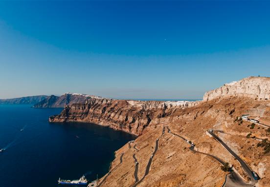 Landscapes on Santorini