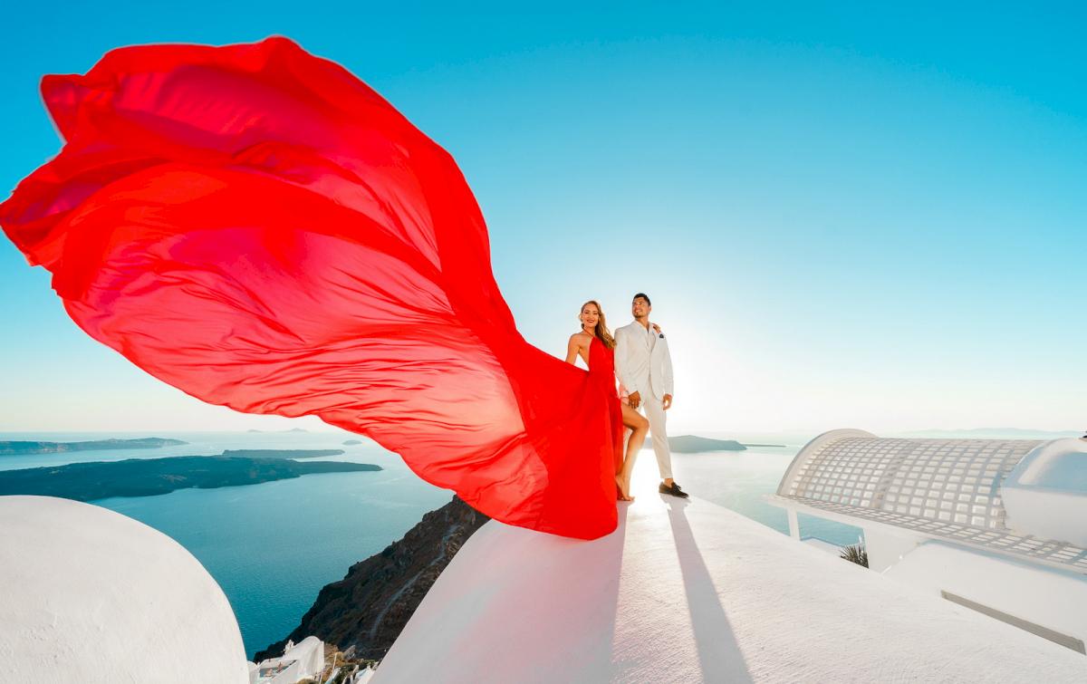Фредди и Маргарет: свадьба на санторини, свадебное агентство Julia Veselova - Фото 8
