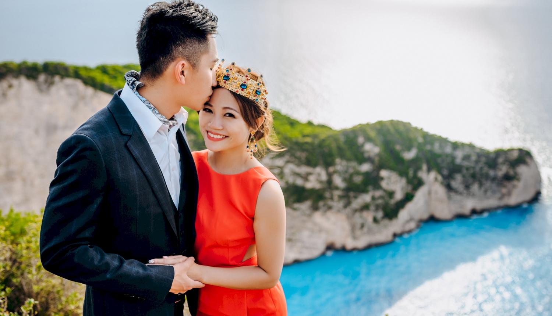 Sugar and Joe: свадьба на санторини, свадебное агентство Julia Veselova - Фото 13