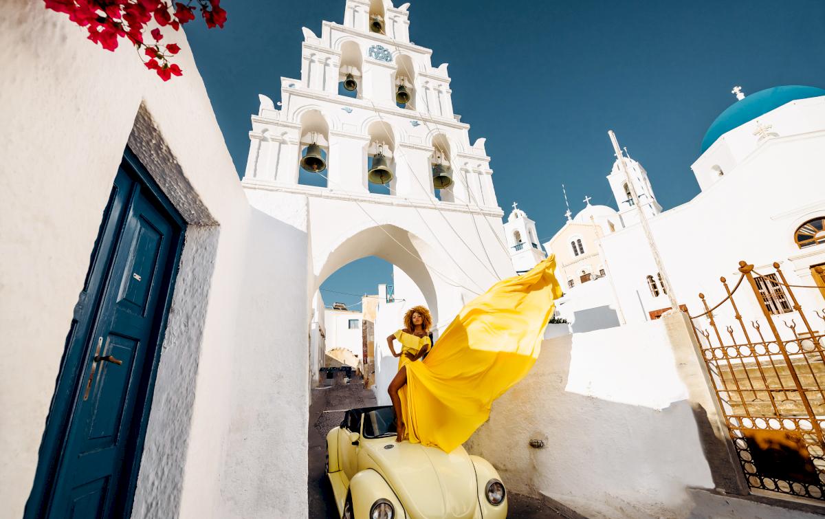 Моника: свадьба на санторини, свадебное агентство Julia Veselova - Фото 3