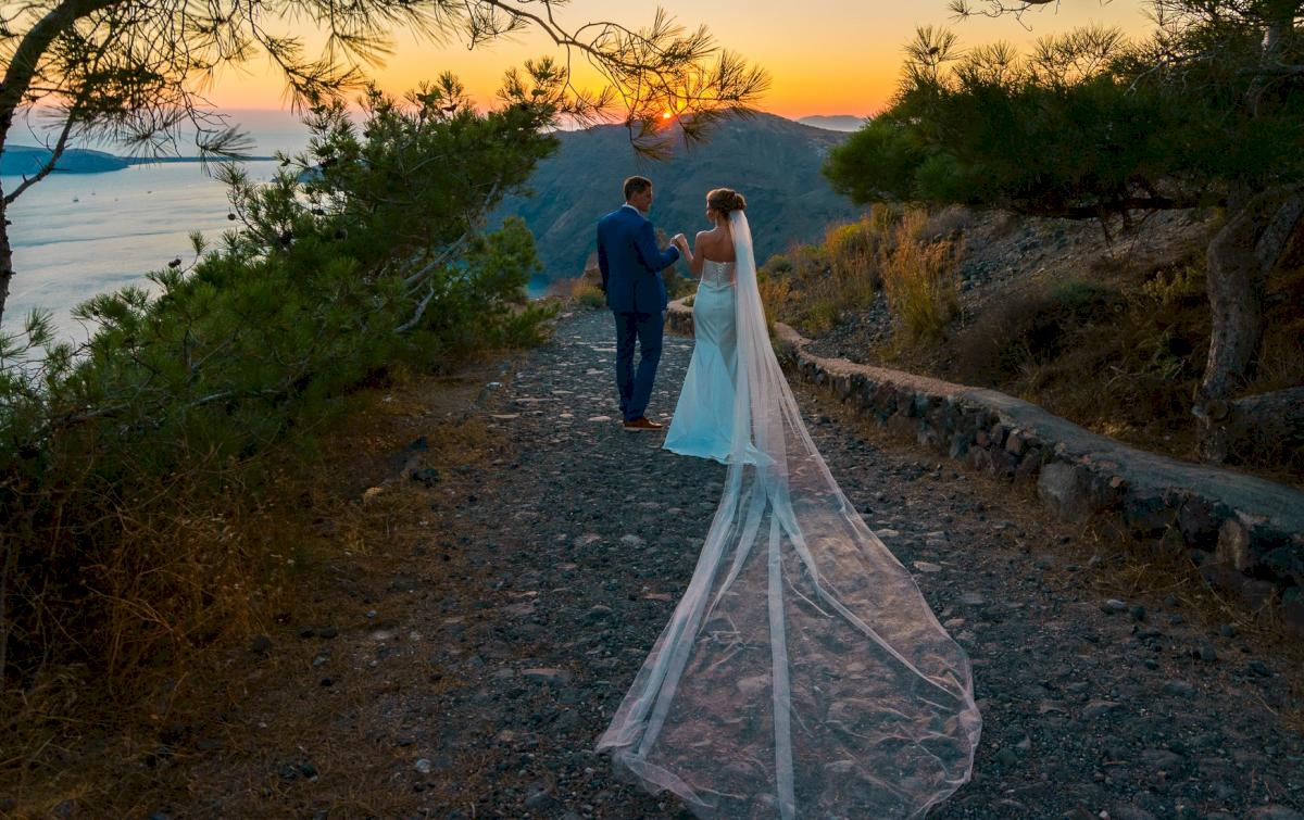 Алена и Рома: свадьба на санторини, свадебное агентство Julia Veselova - Фото 3