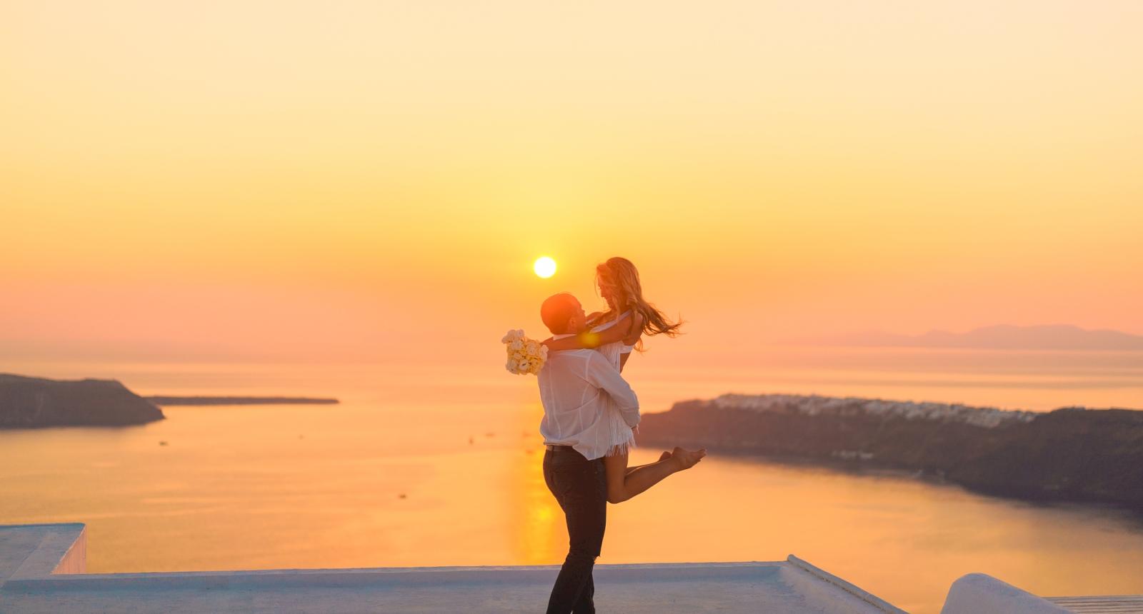 Елена и Олег: свадьба на санторини, свадебное агентство Julia Veselova - Фото 15