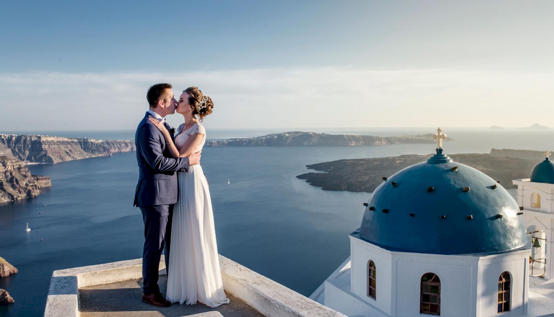 Наталья и Сергей: свадьба на санторини, свадебное агентство Julia Veselova - Фото 3