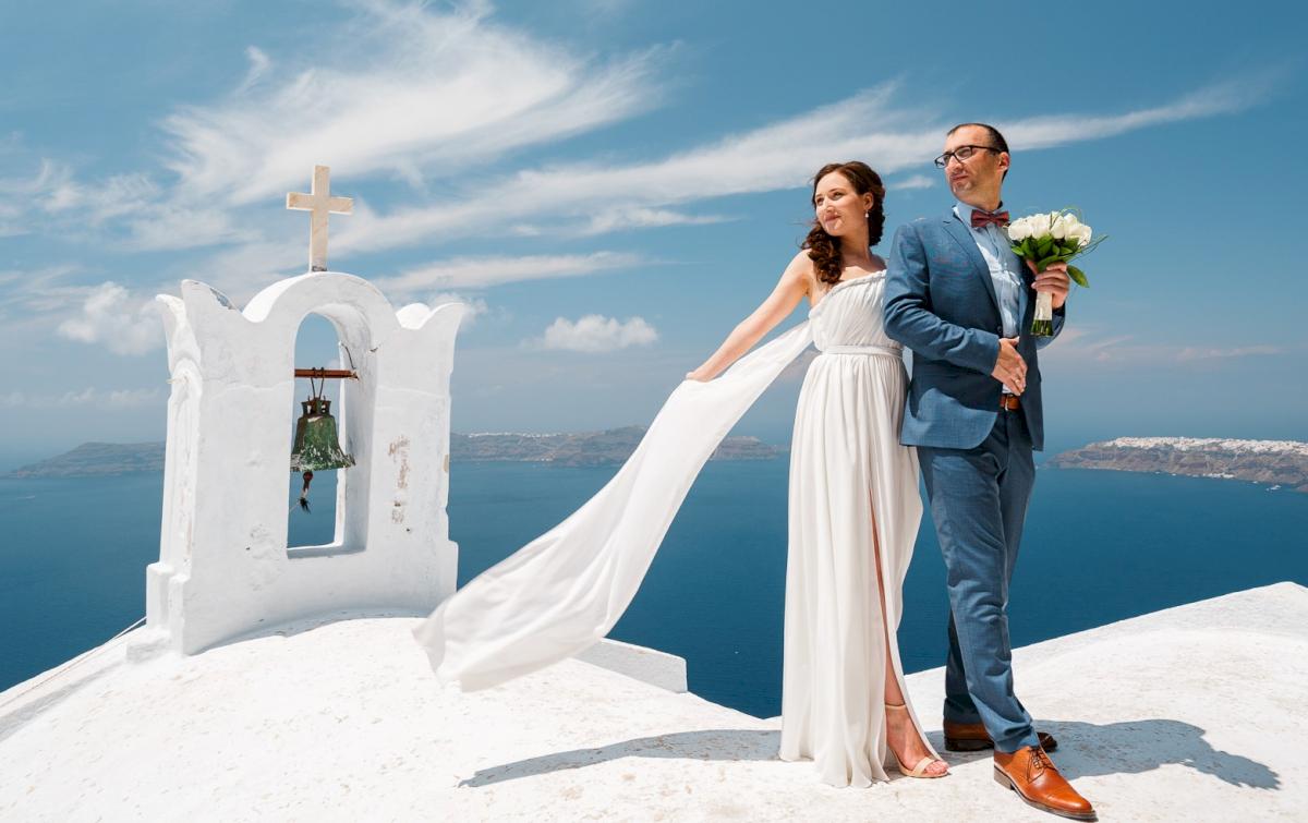 Ирина и Эдуард: свадьба на санторини, свадебное агентство Julia Veselova - Фото 7