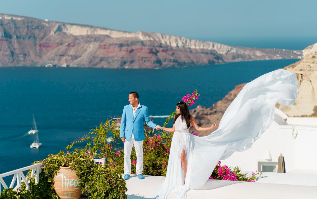 Иветта: свадьба на санторини, свадебное агентство Julia Veselova - Фото 12