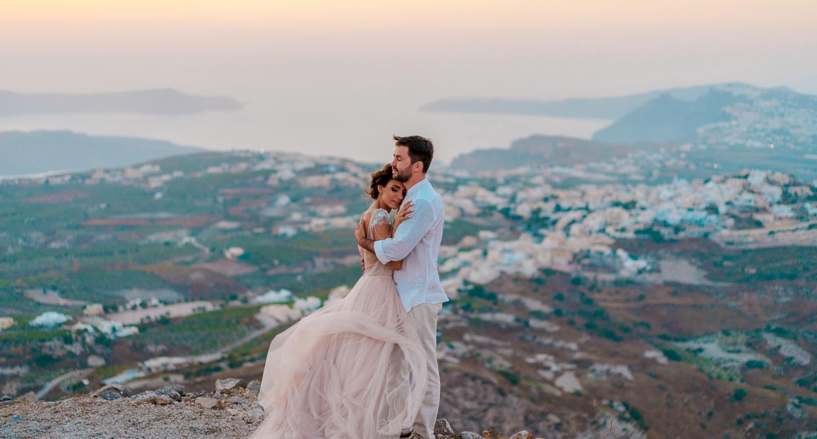 Елизавета и Павел: свадьба на санторини, свадебное агентство Julia Veselova - Фото 3